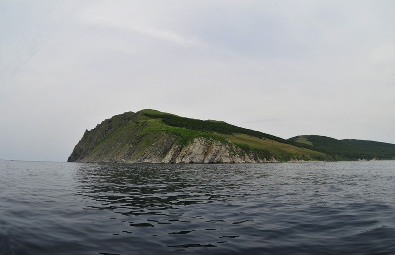An Abandoned Island In The Sea of Japan