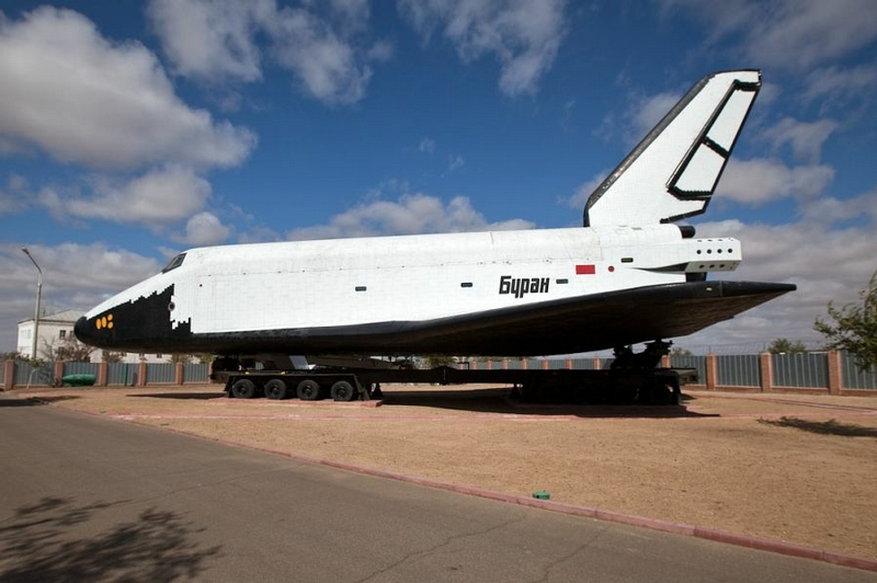 """Buran"" And Launching Site"