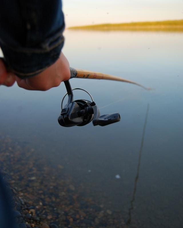 A Big Siberian Catch