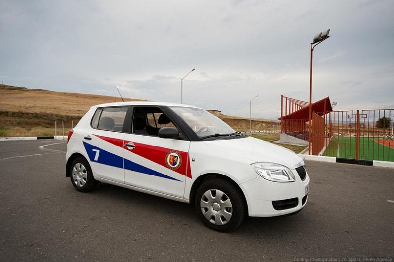 Brand New Georgian Police