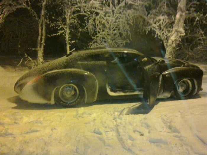Fantastic Car From Russian Neighborhood