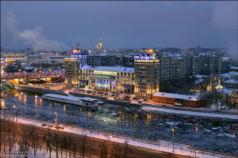 Wonderful Icebound Moscow