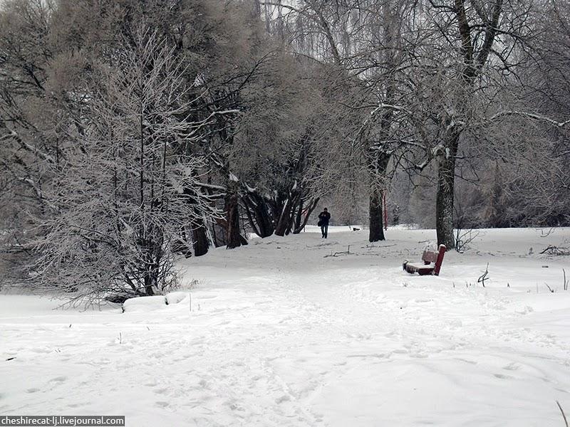 Wonderful Icebound Moscow