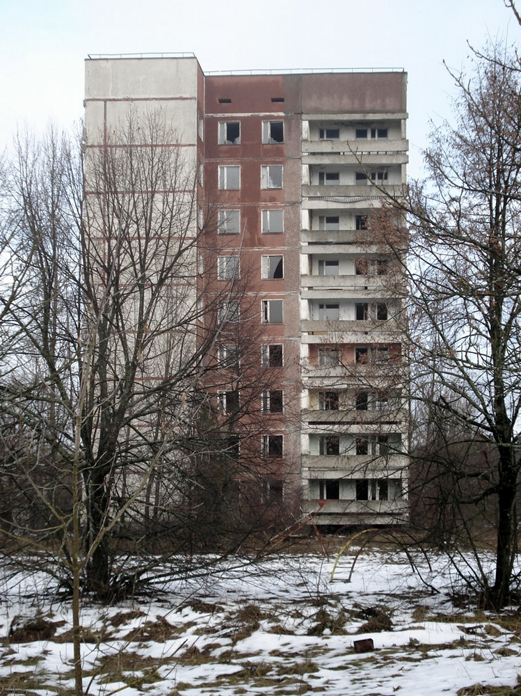 Pripyat This Winter