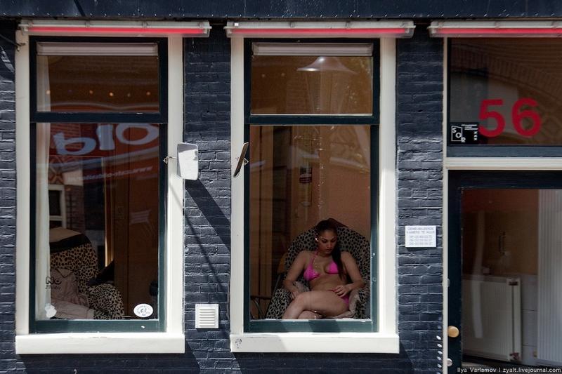 Амстердам Окна Проституток Фото