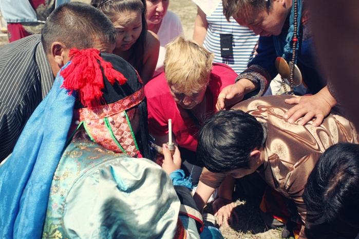 Shaman Feast In Modern Russia