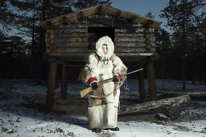 生存的挑战----西伯利亚汉特族人生活的真实写照