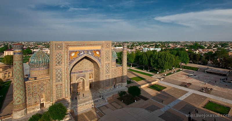 The Country Of Asian Color: Uzbekistan