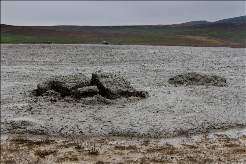 In The Valley Of Mud Volcanoes
