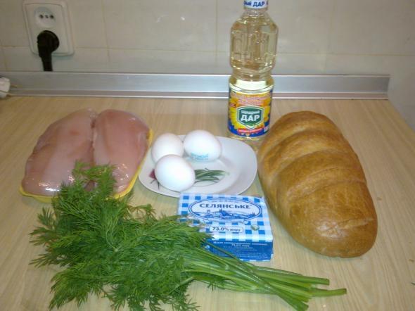 Cooking Chicken Kiev And Smoked Mackerel