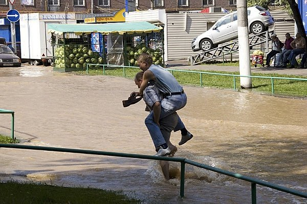 another flood in Moscow 10