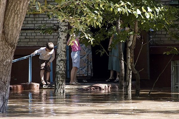 another flood in Moscow 13