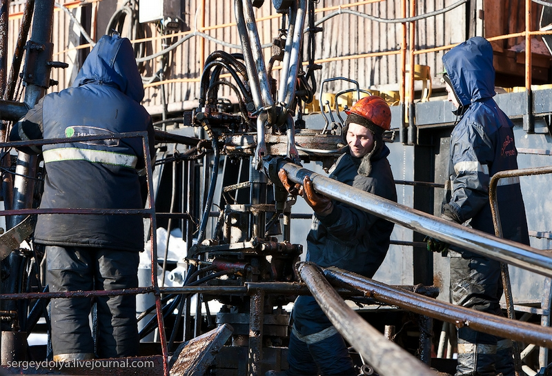 Black Gold Production In Russia