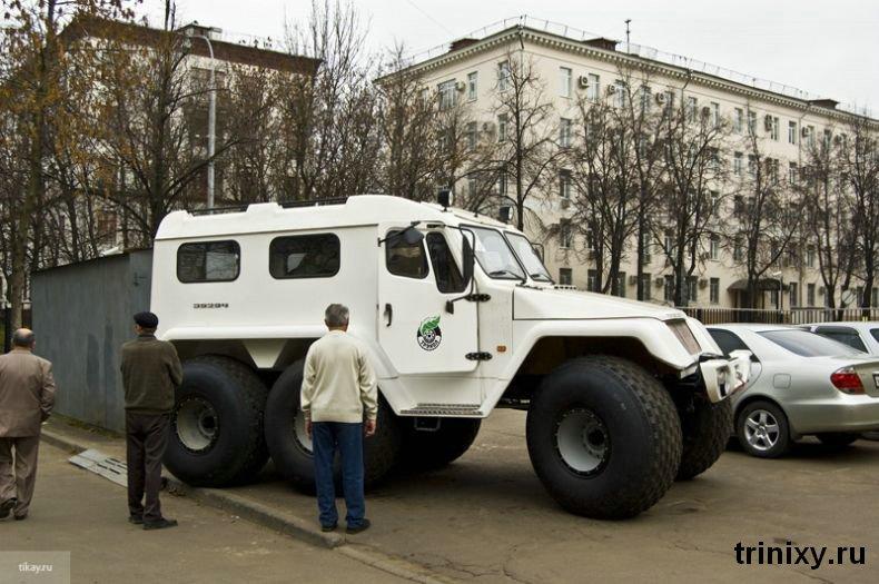 Russian police car 1