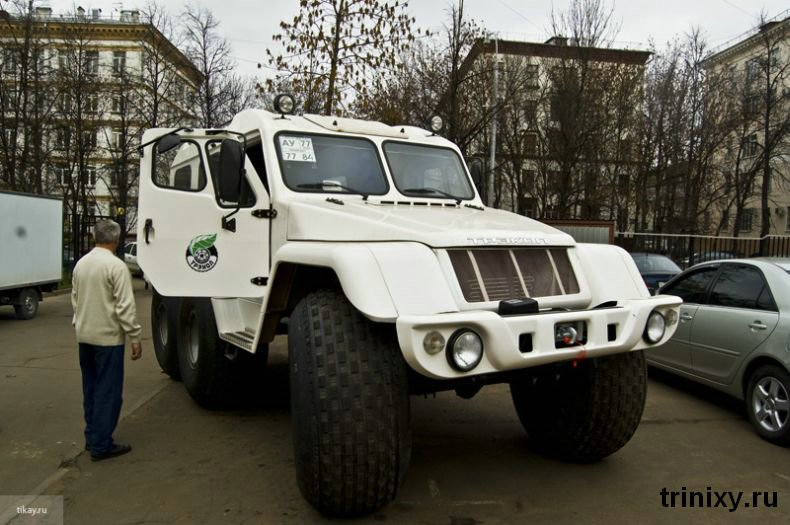 Russian police car 2