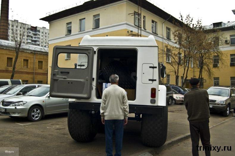 Russian police car 3