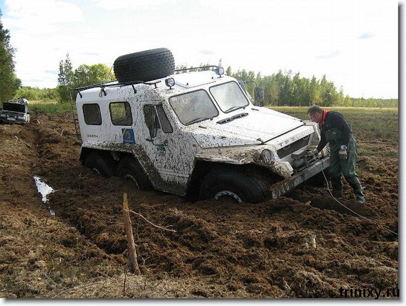 Russian police car 7