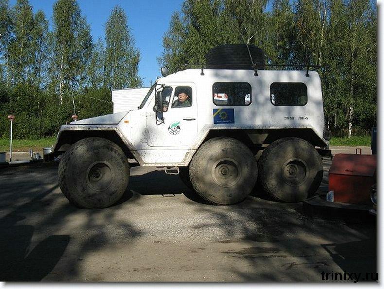 Russian police car 8