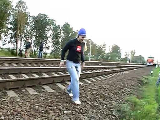 Russian girl is having fun 12