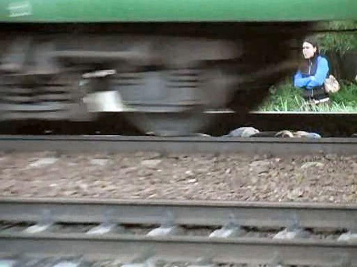 Russian girl is having fun 9