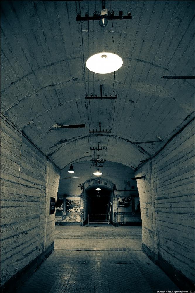 Secret Submarine Base in Balaclava