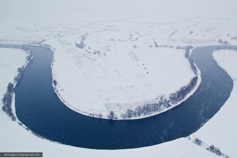 Russian Winter Air-Baloon Flight