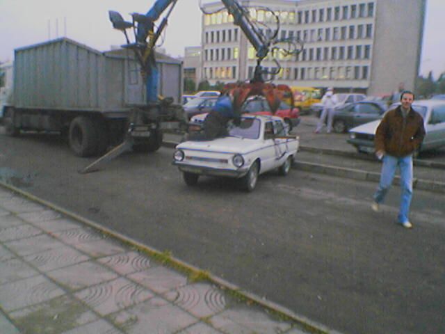 New type of wrecker in Lithuania 1