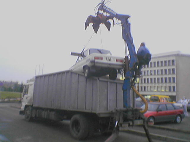 New type of wrecker in Lithuania 5