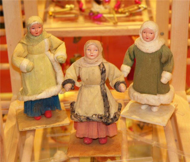 Old Russian New Year Tree Toys English Russia