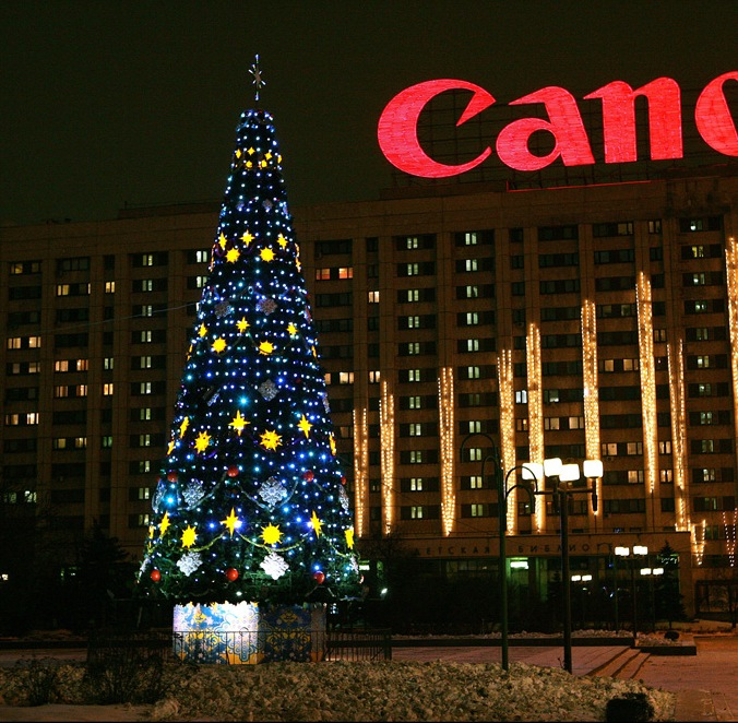 New Year Trees in Moscow, Russia 22
