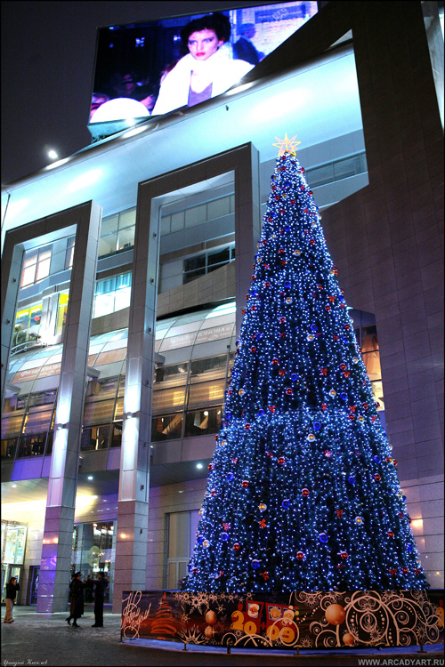 New Year Trees in Moscow, Russia 31