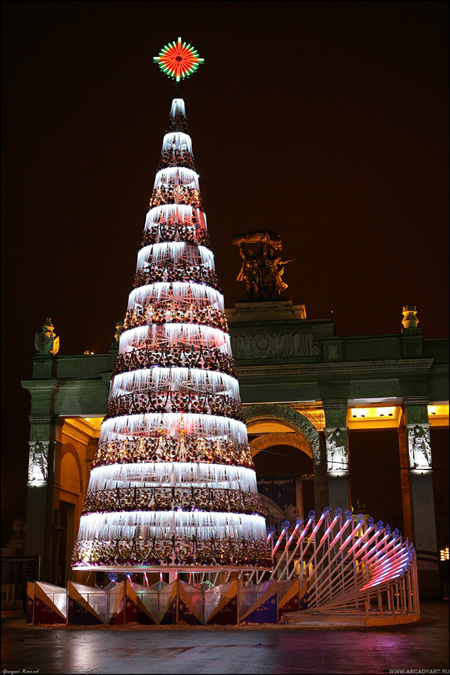 New Year Trees in Moscow, Russia 39