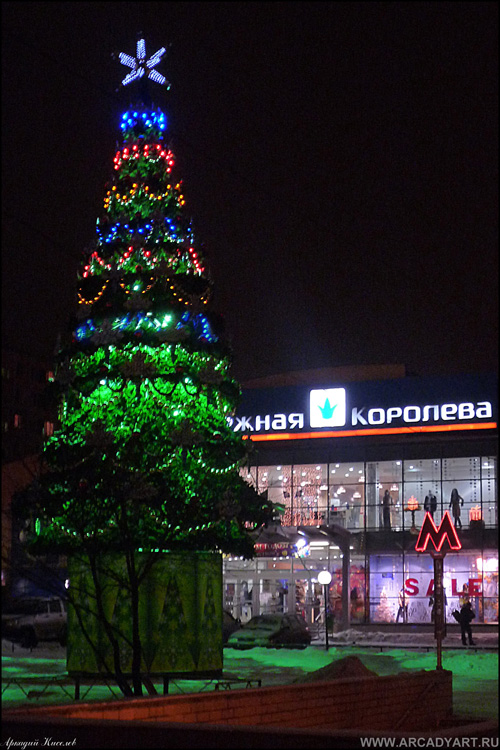 New Year Trees in Moscow, Russia 44