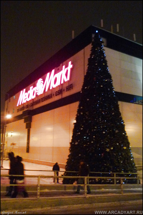 New Year Trees in Moscow, Russia 45