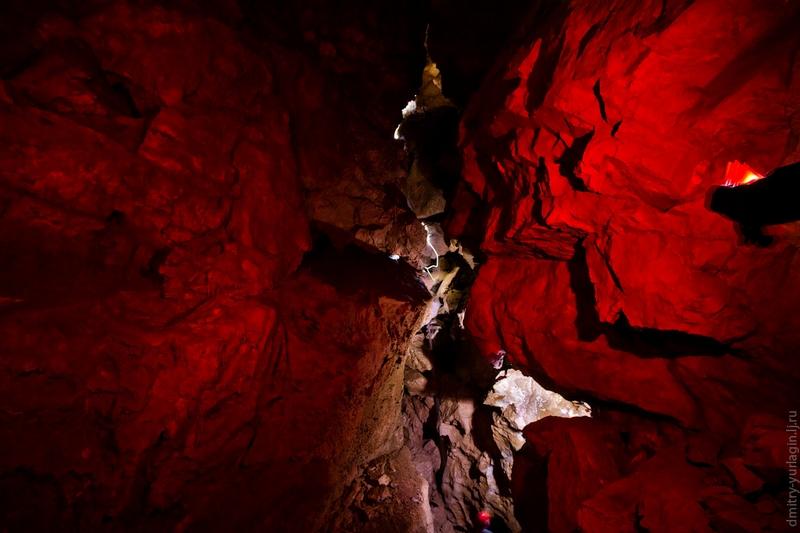 An Exciting Cave Near Krasnoyarsk