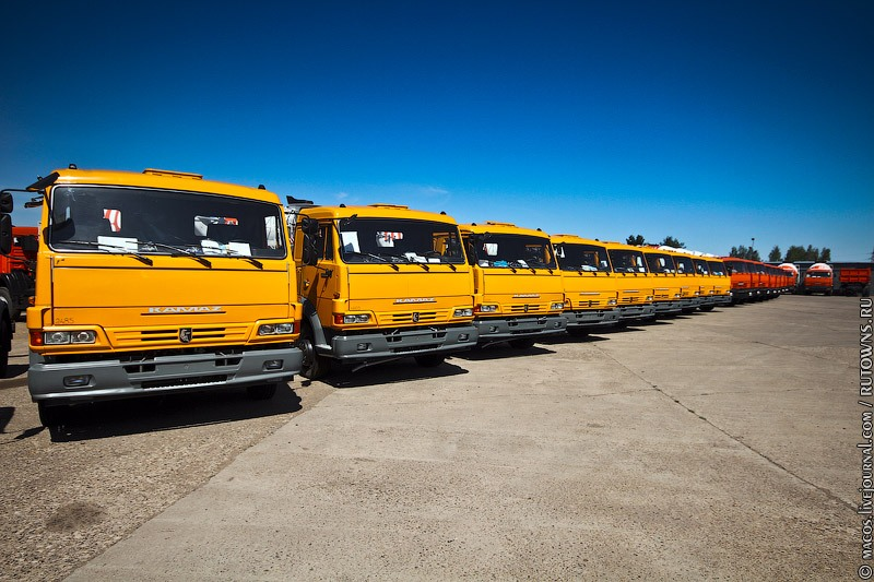 Newborn KAMAZ Vehicles 2