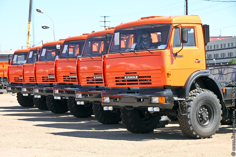 Newborn KAMAZ Vehicles 4
