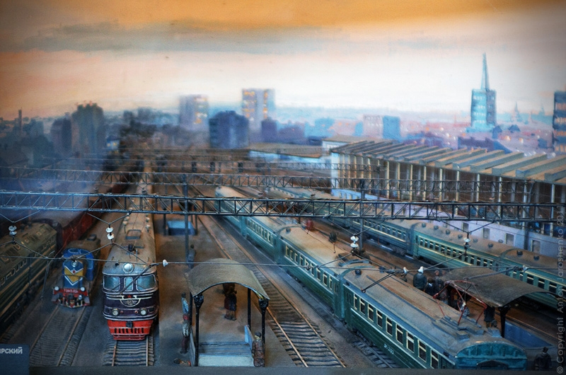 The Central Railway Museum of St. Petersburg