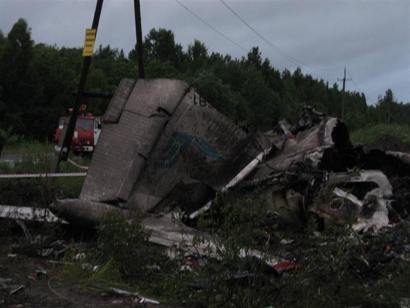 A Plane Crash In Karelia