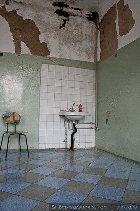 The Hospital That Looks Abandoned