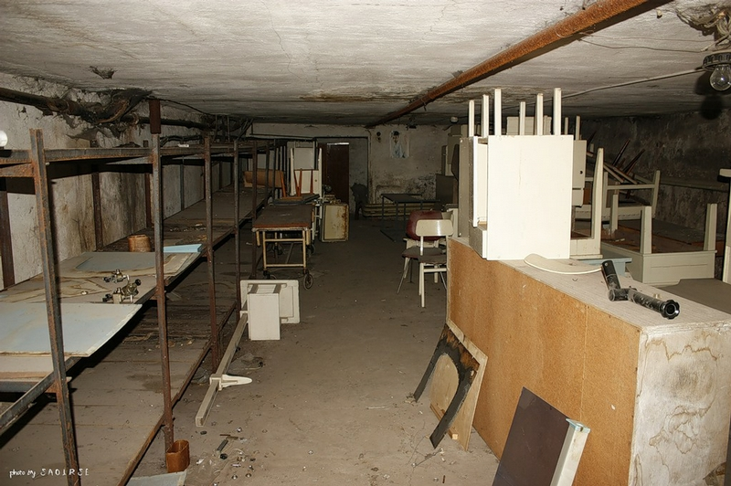 Gloomy Atmosphere of Abandoned Medical Facilities