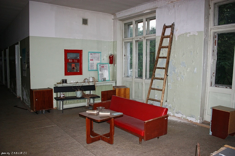 Gloomy Atmosphere of Abandoned Medical Facilities