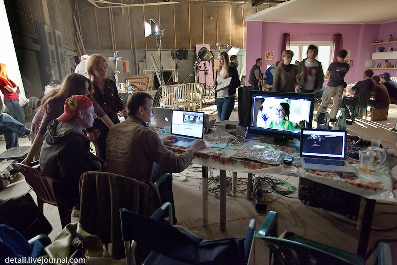 Shooting TV Commercials