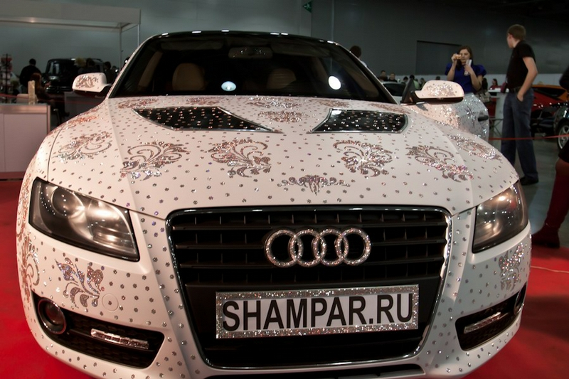 The Moscow Tuning Show In Crocus Expo