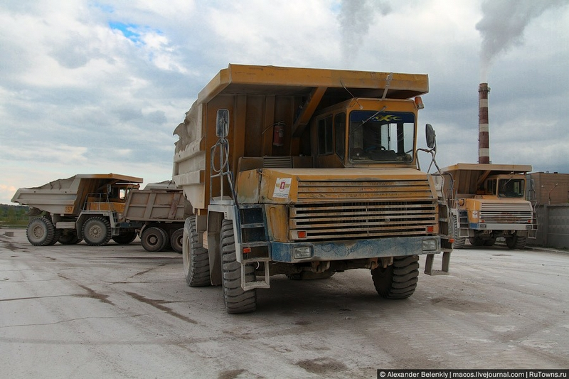 Belorussian Dumpers Come Through the Virgin Nature