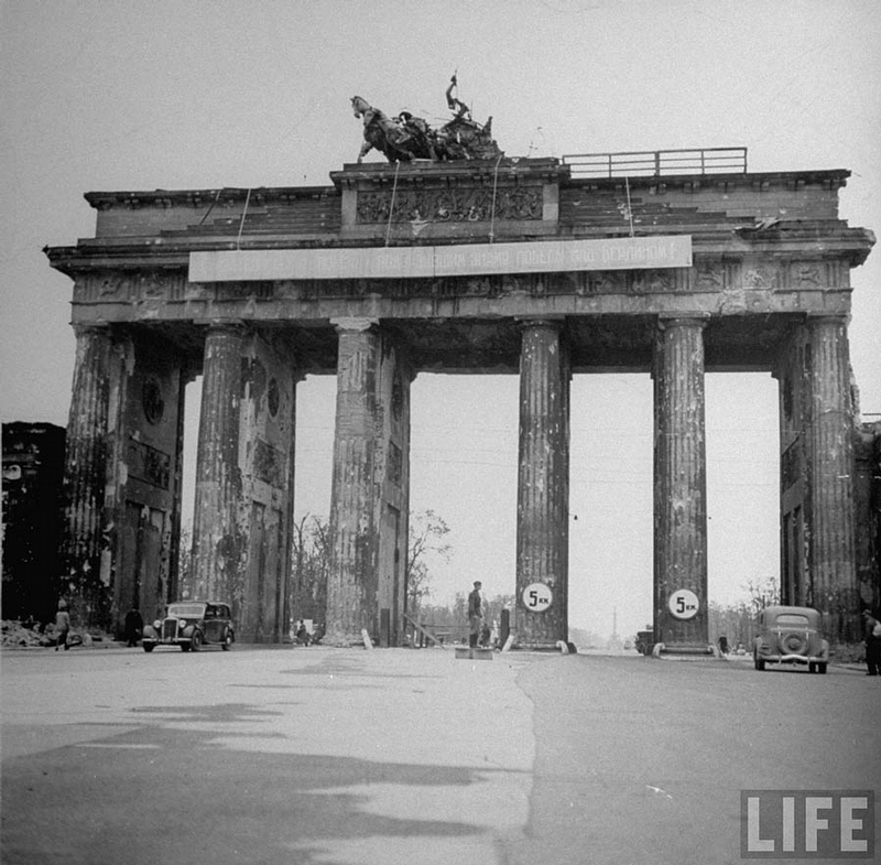 Defeated Berlin In The Summer Of 1945