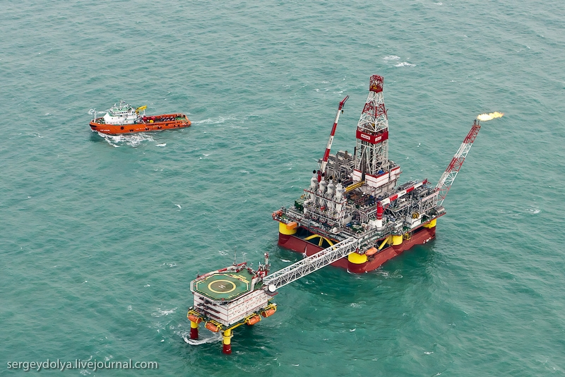 The Russian Oil Platform Made By World Standards