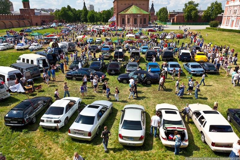 The Car Festival In Tula