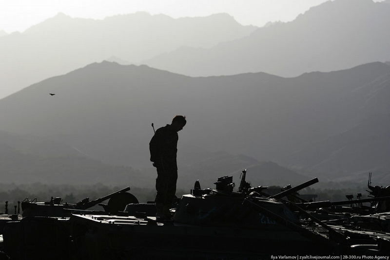 Afghan Army And the Soviet Equipment Junkyard