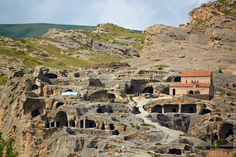 One of the Most Ancient Cave Towns of Georgia